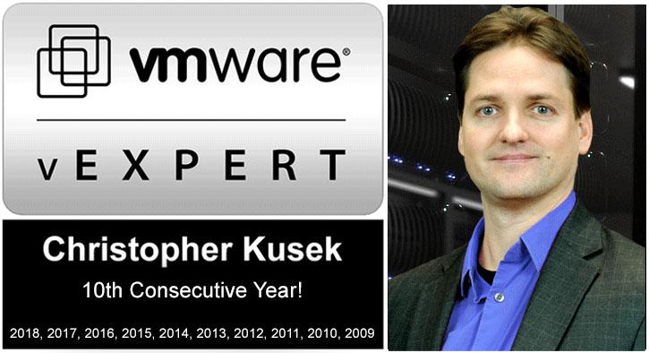 Christopher Kusek vExpert